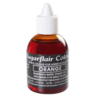 Sugarflair Airbrushfarbe Orange