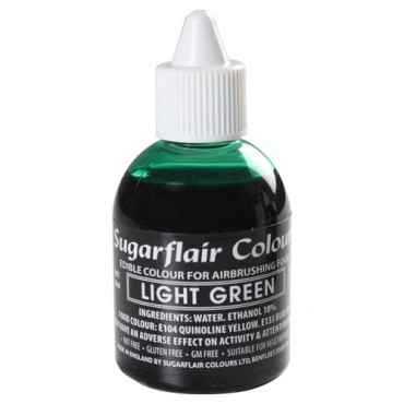 Sugarflair Airbrushfarbe Light Green - Hellgrün