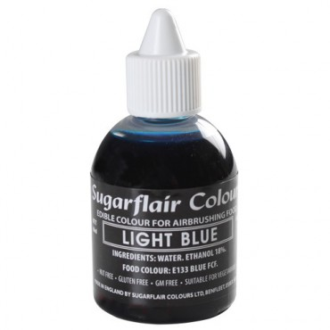 Sugarflair Airbrushfarbe Light Blue - Hellblau